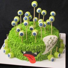 Cool Birthday Cakes for Boys | Pictures of Cool Birthday Cakes Ideas Cool Monster Birthday Cake Idea ...