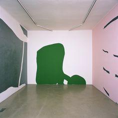 // Arturo Herrera, Busy Night (2005) wallpaint, wall paintings