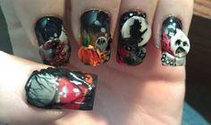 Scary Good Nail Art www.salonfanatic.com