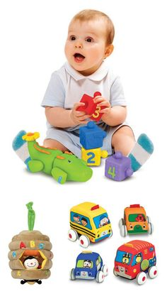 {Terrific 25 Holiday Gifts for 2013} K's Kids toddler toys nurture early childhood development in three key skill areas: physical, cognitive, and social.