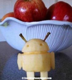 Android in Apple - Android fatto di mela