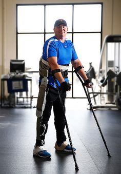 1 | This Light, Affordable Exoskeleton Could Help The Paralyzed Walk Again |