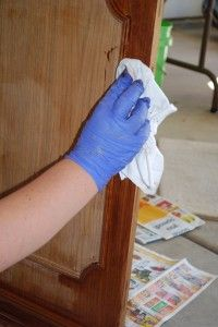 DIY Tutorial-Refinishing Furniture Step by step (Stripping to Restaining)