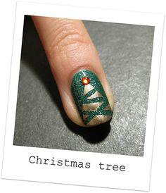 Christmas Tree Nail!