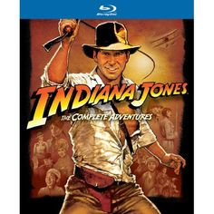 INDIANA JONES: The entire series is coming to Blu Ray for the first time - and RAIDERS OF THE LOST ARK is a fun action-packed date movie to boot.