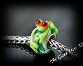 Red Eyed Tree Frog Trollbead