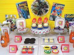 Big Bang Theory Party, big bang theory dessert table, big bang theory birthday party