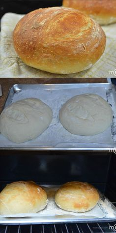 Easy bread recipe, it will require only a few minutes of your time.