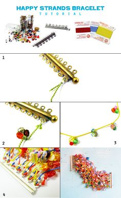 #DIY Happy Strand Bracelet #tutorial