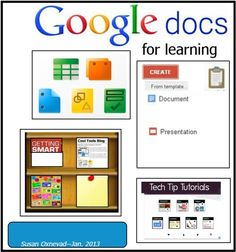 Cool Tools for 21st Century Learners: Google Docs