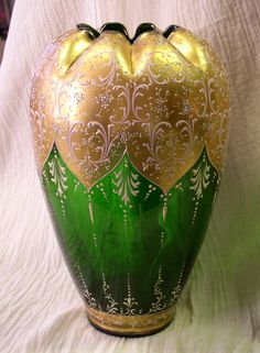 Moser Glass Vase