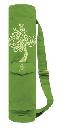 Amazon.com: Gaiam Tree of Wisdom Cargo Yoga Mat Bag: Sports & Outdoors