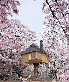 Treehouse by Terunobu Fujimori
