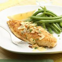 Catfish Amandine Recipe