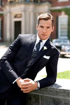 The classic look, updated by Ralph Lauren. See more at http://www.facebook.com/FLOWFormalWear