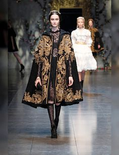 Baroque Romanticism Dolce and Gabbana 2013