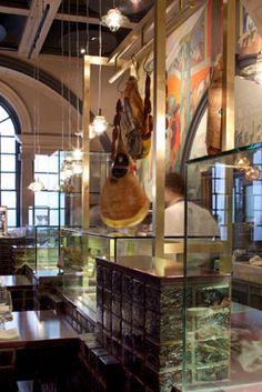 Royal Academy of Arts - restaurant re-design by Tom Dixon, Designer Lighting, Furniture, Accessories