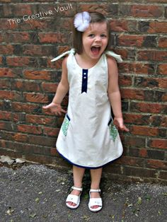 Reversible Dress Pattern by Grits  Giggles