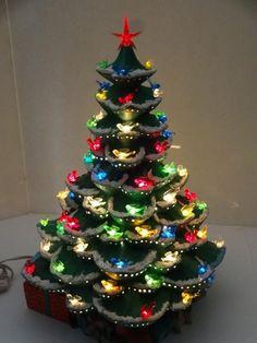 Ceramic Christmas Trees On Pinterest Ceramics Christmas