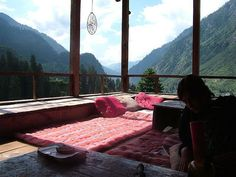 This reminds me of a view from a hotel in Bhutan....not sure where this is though