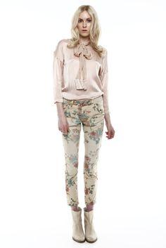 Shoptiques — Floral Print Pants