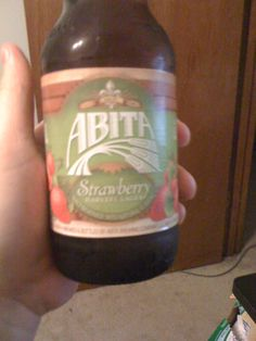 Abita Strawberry Lager! Yay! One of my favorites from Abita. 2/29/12