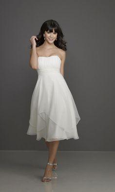 Mori-Lee Semi-Formal Dress, again, not in white...