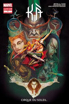 Cirque du Soleil and Marvel launch KA Comic