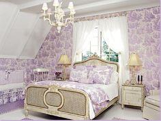 Elegant lilac nursery
