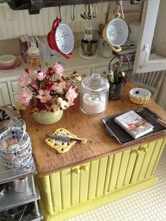 a wonderful corner of a warm and cosy kitchen By Kim Saulter