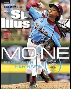 In its 60-year history, #SportsIllustrated has never had a Little Leaguer on its cover. Until now. You go, girl! #MoNeDavis