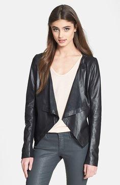 Cascade leather jack