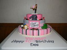 Dirty Dancing cake! Check out littlecakesontheprairie.com to see more ...