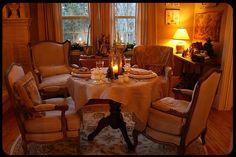 decor room, cottag perfect, dine room, christma decor, christmas