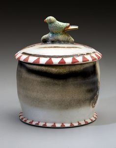 """Tea Jar""  http://online.lynnsmiserbowers.com"