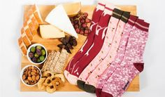 Meat Feet Socks ($36): Showing the love for salumi, give the gift of mortadella, sopressata and prosciutto as a feast fit for the feet.