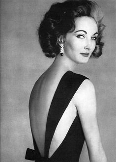 Evelyn Tripp - Vogue May 1956