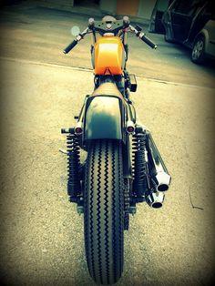 Harley Davidson Sporty 883 Cafe Racer