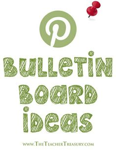 Several ideas for your bulletin boards and doors! One of many @Pinterest boards featured on this post.