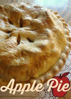Homemade Juicy Apple Pie!