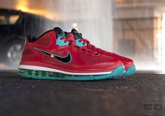 LeBron 9 Low 'Liverpool' (Now Available)