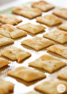 Homemade Cheese Crackers - so easy!