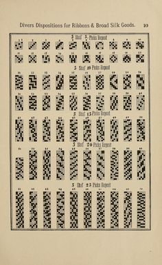 Ribbon/braid patterns
