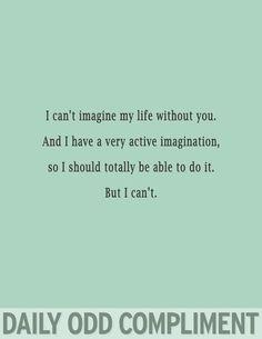 """Life Imagined"""