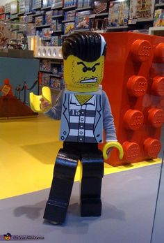 """Bad Guy"" Lego Minifigure Costume"
