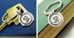 Blow Out Sale Personalized Initial KeyChain  for only $4.99 Limited time. Sales ends 9/23