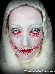 Bloody makeup » Halloween Costumes 2013