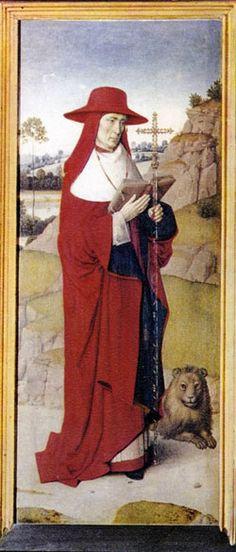Image of St. Erasmus patron saint of abdominal pain
