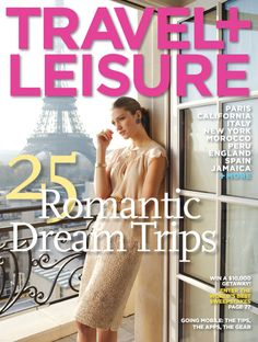TRAVEL + LEISURE® Magazine Subscription: Ideal for the aspiring jetsetter, this magazine subscription celebrates the world's most beautiful destinations.