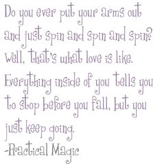 Practical Magic. Love